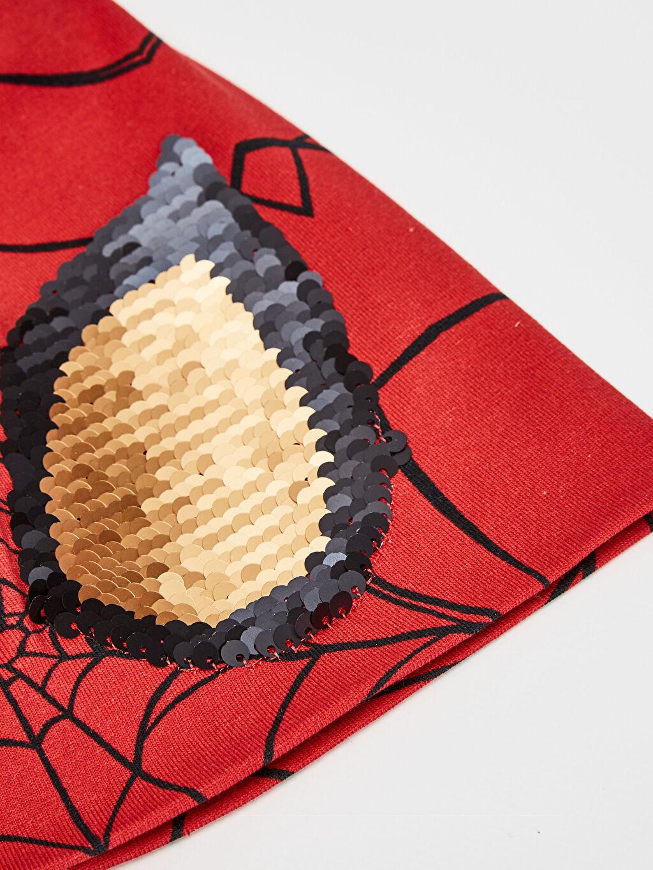 Erkek Çocuk Erkek Çocuk Spiderman Lisanslı Triko Bere