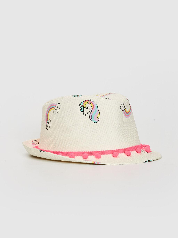 Bej Kız Çocuk Hasır Şapka 0S6491Z4 LC Waikiki