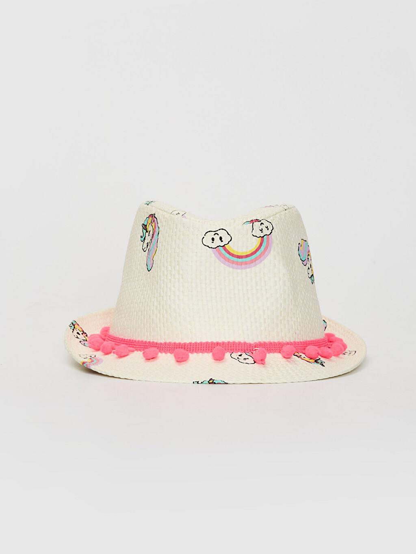 %100 Kağıt %100 Polyester Şapka Hasır Astarsız Kız Çocuk Hasır Şapka