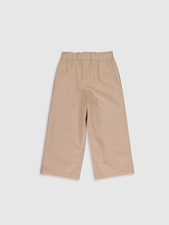 %100 Pamuk Normal Bel Bol Kız Çocuk Pamuklu Pantolon