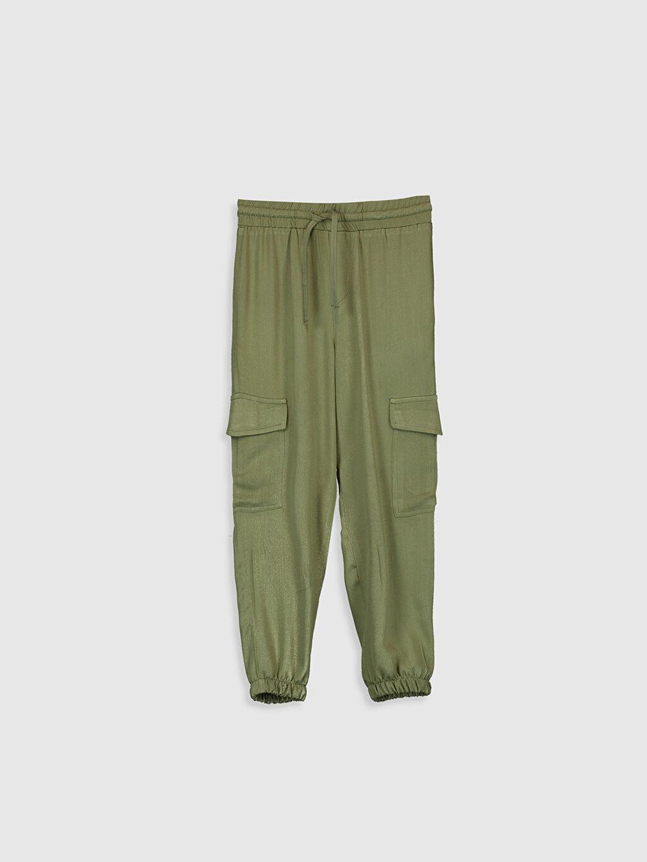 Haki Kız Çocuk Jogger Pantolon 0S6684Z4 LC Waikiki