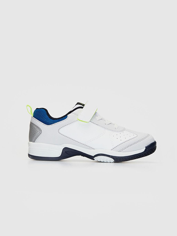 Beyaz Erkek Çocuk Cırt Cırtlı Günlük Spor Ayakkabı 0S6715Z4 LC Waikiki