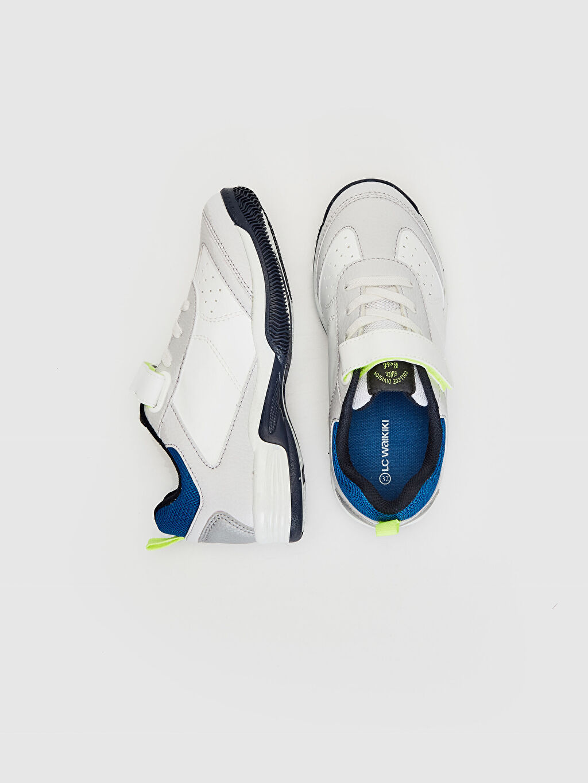Tekstil malzemeleri Diğer malzeme (pvc) Bağcık, Cırt Cırt ve Fermuar Sneaker Işıksız Erkek Çocuk Cırt Cırtlı Günlük Spor Ayakkabı