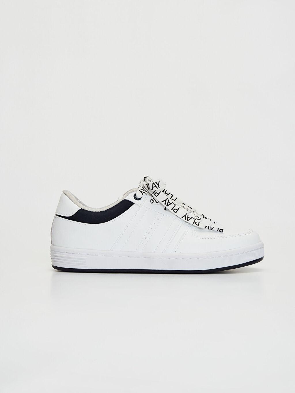 Beyaz Erkek Çocuk Sneaker 0S7039Z4 LC Waikiki