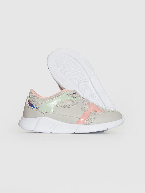 Kız Çocuk Kız Çocuk Renk Bloklu Günlük Ayakkabı
