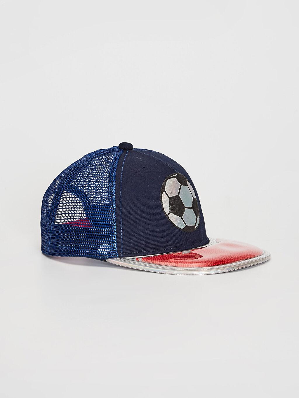 Lacivert Erkek Çocuk Hip Hop Şapka 0S7634Z4 LC Waikiki