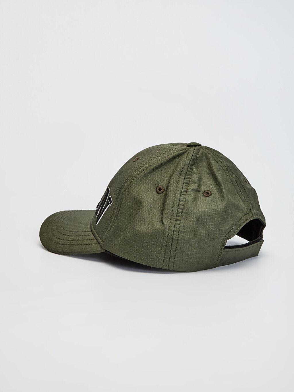 Erkek Çocuk Erkek Çocuk Yazı Nakışlı Şapka