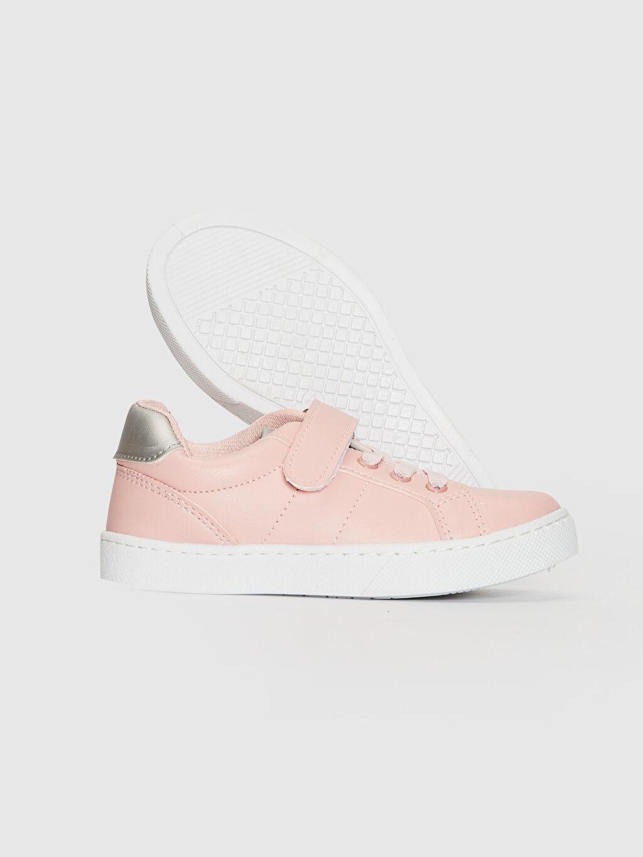 Kız Çocuk Kız Çocuk 25-30 Numara Cırt Cırtlı Günlük Ayakkabı