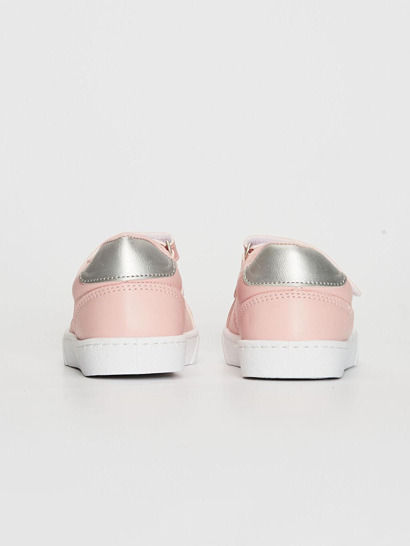 Kız Çocuk 25-30 Numara Cırt Cırtlı Günlük Ayakkabı