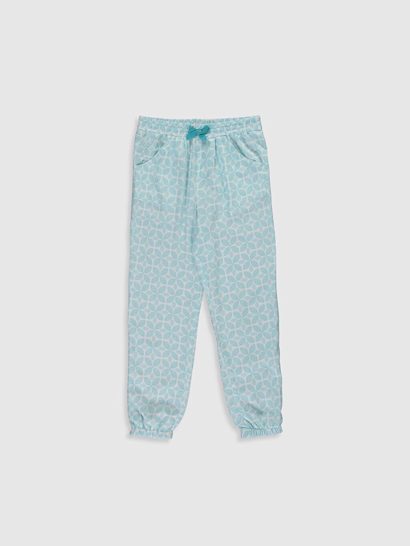 Mavi Kız Çocuk Viskon Jogger Pantolon 0S8260Z4 LC Waikiki