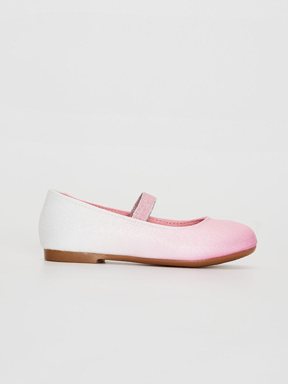 Pembe Kız Çocuk Minnie Mouse Babet Ayakkabı 0S8827Z4 LC Waikiki