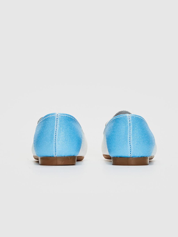 Kız Çocuk Frozen Baskılı Babet Ayakkabı