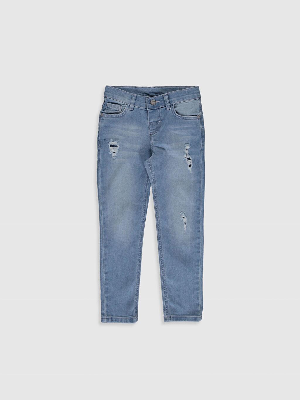 İndigo Erkek Çocuk Skinny Jean Pantolon 0SG001Z4 LC Waikiki