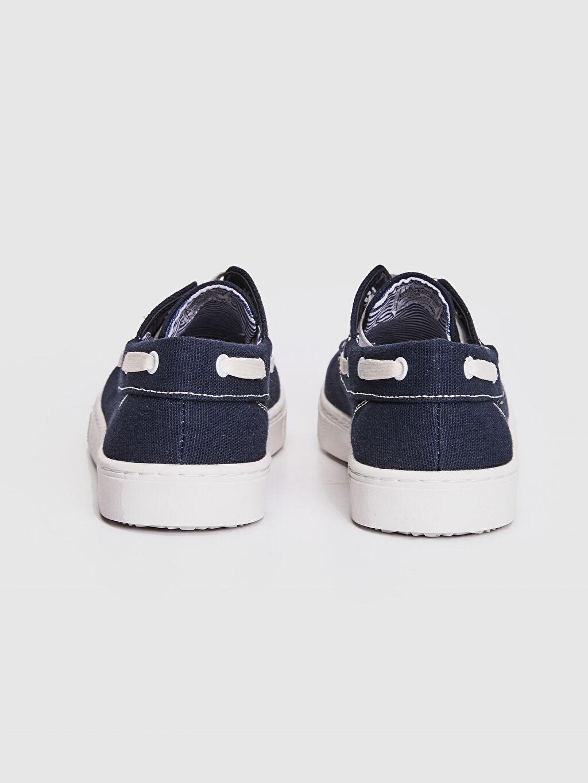 Erkek Çocuk 31-38 Numara Bağcıklı Bez Ayakkabı