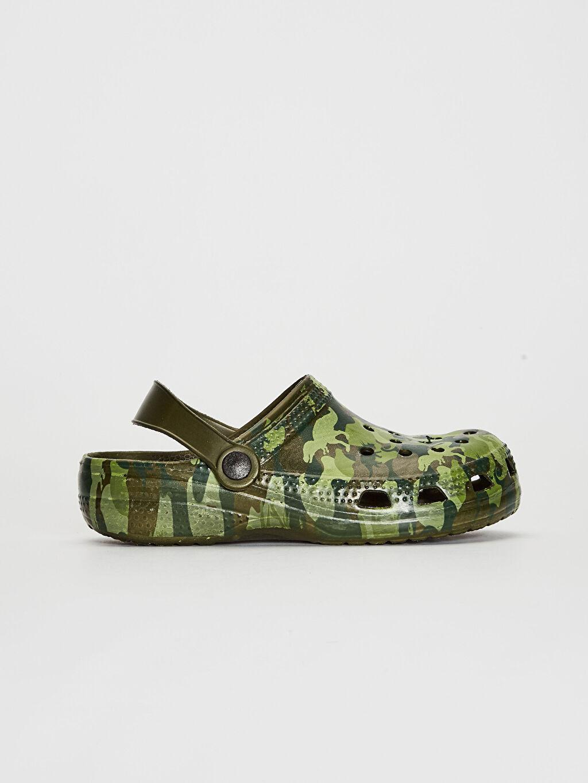 Haki Erkek Çocuk Dinazor Baskılı Sandalet 0SH309Z4 LC Waikiki