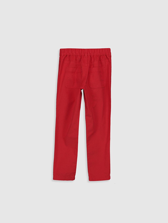 %100 Pamuk Normal Bel Standart Kız Çocuk Pamuklu Pantolon