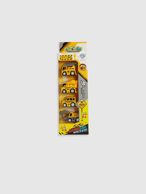 Sarı Oyuncak 4'lü Kamyon Set 0SJ776Z4 LC Waikiki