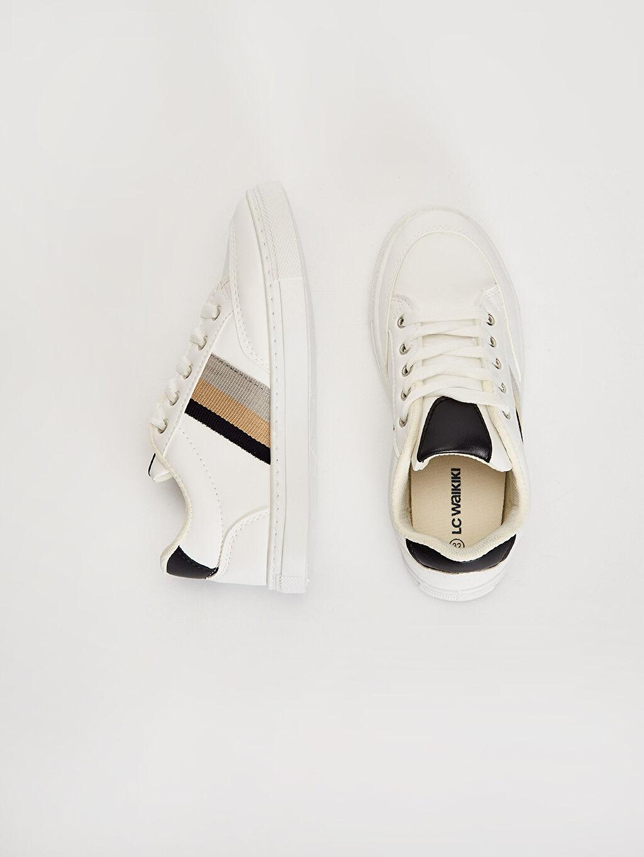 %0 Diğer malzeme (pvc) %0 Tekstil malzemeleri ( %100 polyester) Sneaker Bağcık Işıksız Erkek Çocuk Bağcıklı Günlük Spor Ayakkabı