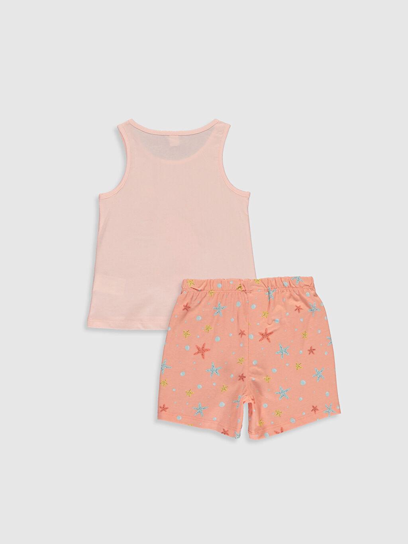 %100 Pamuk Askılı İnce Standart Pijama Takım Süprem Kız Çocuk Baskılı Pamuklu Pijama Takımı