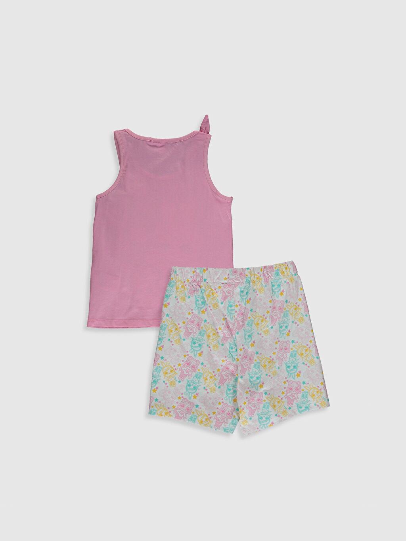%100 Pamuk Askılı İnce Standart Pijama Takım LOL Süprem Kız Çocuk Lol Bebek Baskılı Pamuklu Pijama Takımı