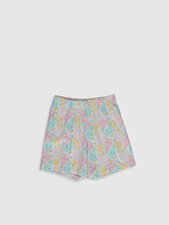 %100 Pamuk Kız Çocuk Lol Bebek Baskılı Pamuklu Pijama Takımı