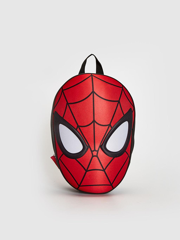 Kırmızı Erkek Çocuk Spiderman Lisanslı Sırt Çantası 0SK649Z4 LC Waikiki