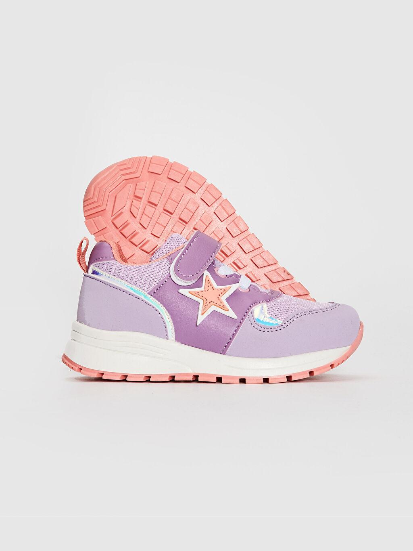 Kız Çocuk Kız Çocuk Cırt Cırtlı Günlük Ayakkabı