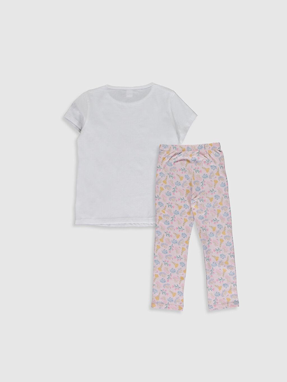 %100 Pamuk Süprem Standart Baskılı Pijama Takım Kız Çocuk Baskılı Pamuklu Pijama Takımı