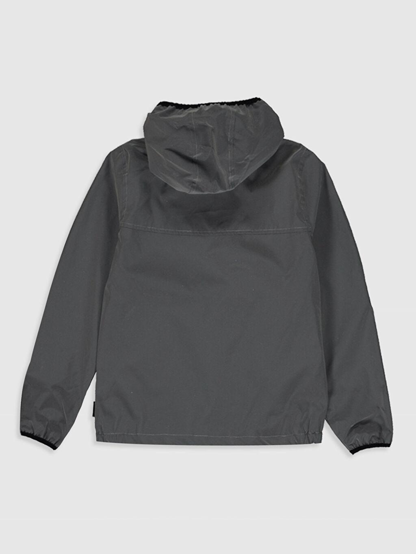 %100 Polyester %100 Pamuk İnce Mont Erkek Çocuk Kapüşonlu Reflektör Mont