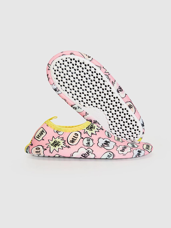 Kız Çocuk Kız Çocuk Baskılı Deniz Ayakkabısı