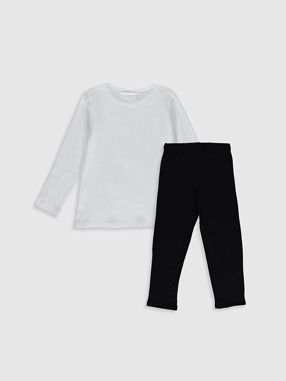%100 Pamuk İnce Uzun Kol Standart Pijama Takım Süprem Looney Tunes Kız Çocuk Looney Tunes Baskılı Pamuklu Pijama Takımı