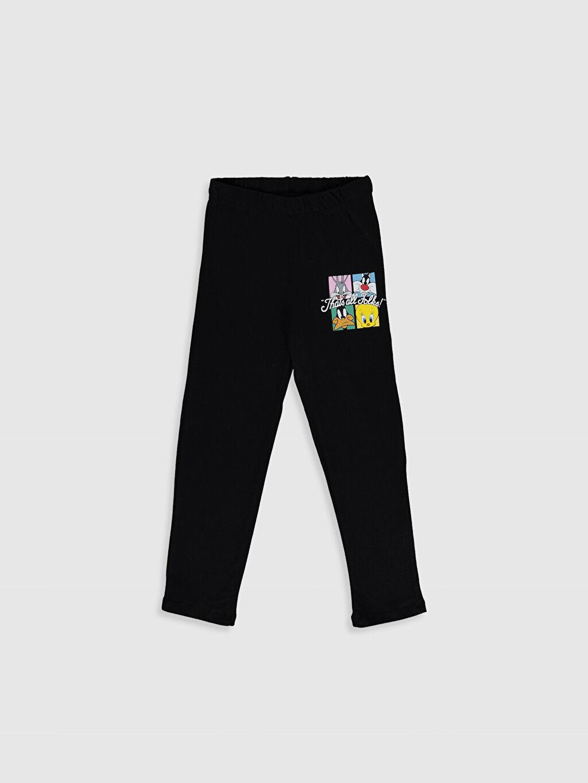 %100 Pamuk Kız Çocuk Looney Tunes Baskılı Pamuklu Pijama Takımı