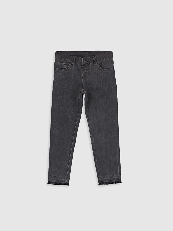 Antrasit Erkek Çocuk Skinny Jean Pantolon 0SA654Z4 LC Waikiki