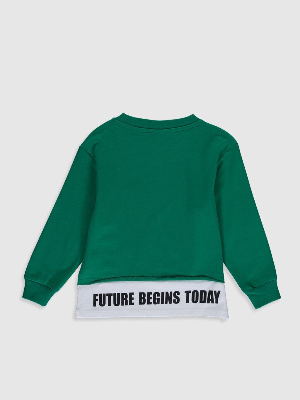 Erkek Çocuk Unisex Çocuk Baskılı Sweatshirt