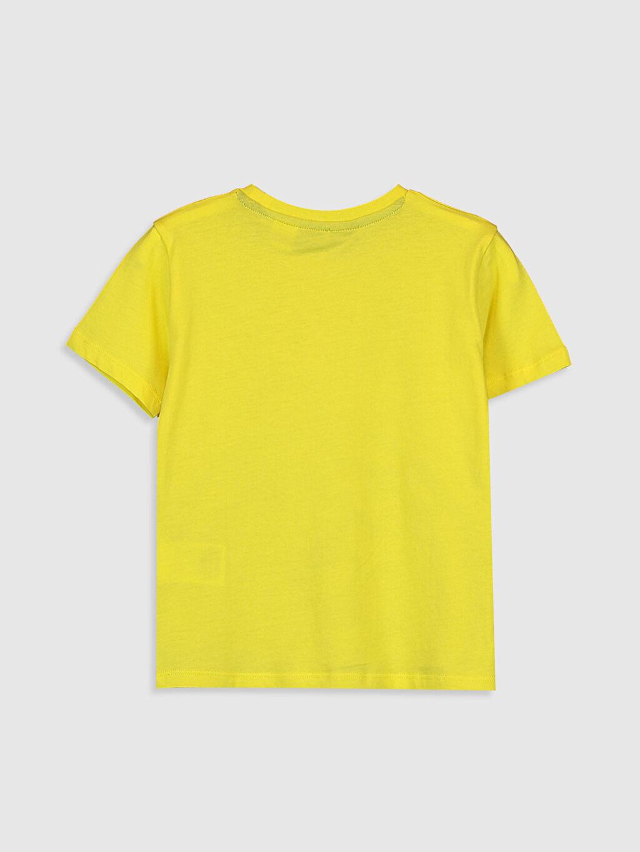 %100 Pamuk %100 Pamuk Süprem Standart Baskılı Tişört Bisiklet Yaka Kısa Kol Fenerbahçe Erkek Çocuk Fenerbahçe Amblemli ve Baskılı Pamuklu Tişört