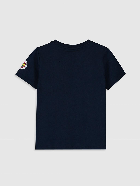 %100 Pamuk İnce Süprem Standart Baskılı Tişört Bisiklet Yaka Kısa Kol Fenerbahçe %100 Pamuk Erkek Çocuk Fenerbahçe Baskılı Pamuklu Tişört