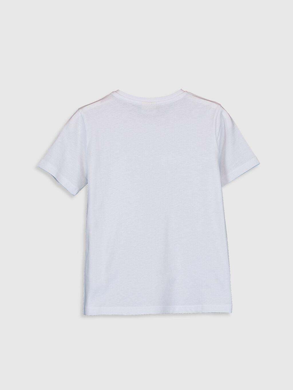 %100 Pamuk %100 Pamuk İnce Kısa Kol Düz Süprem Standart Tişört Bisiklet Yaka Erkek Çocuk Baskılı Pamuklu Tişört
