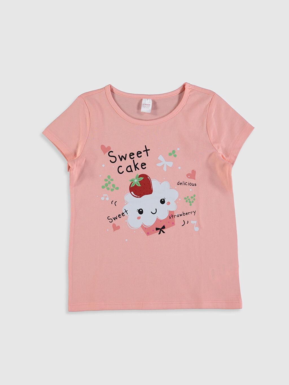 Kız Çocuk Kız Çocuk Baskılı Pijama Takımı