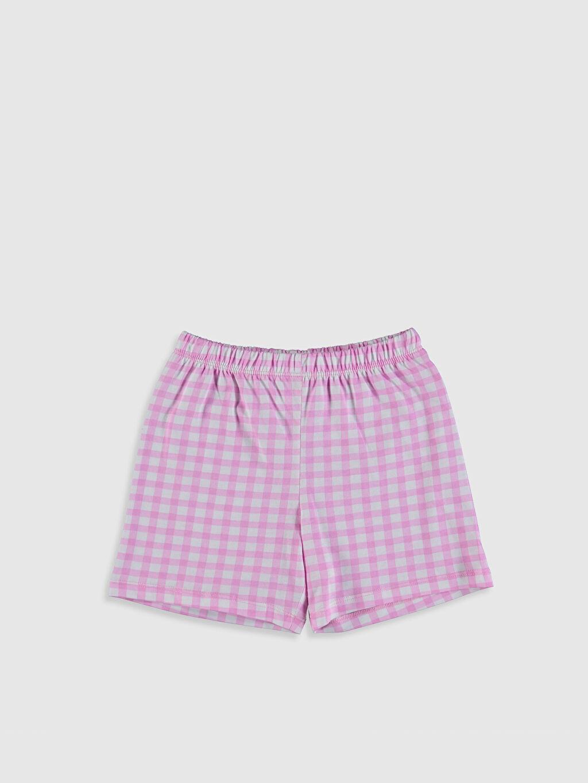 %100 Pamuk Kız Çocuk Baskılı Pamuklu Pijama Takımı