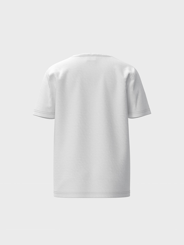 %100 Pamuk %100 Pamuk İnce Baskılı Tişört Bisiklet Yaka Kısa Kol Süprem Standart Erkek Çocuk Baskılı Pamuklu Tişört