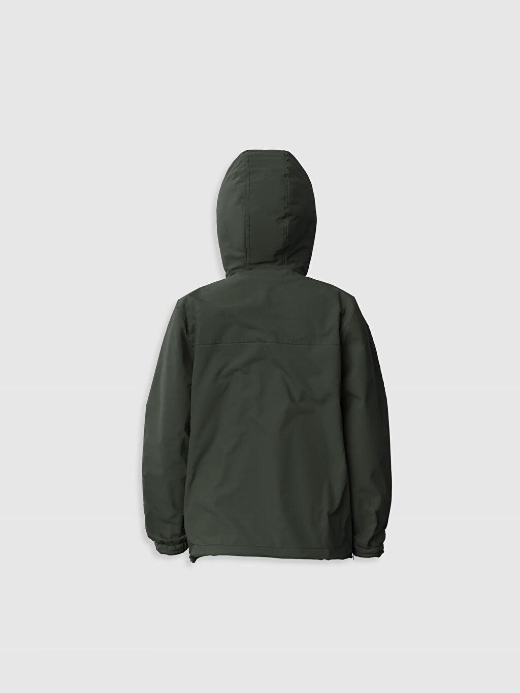 %100 Polyester %100 Pamuk Düz Mont Penye Astar İnce Erkek Çocuk Kapüşonlu İnce Mont