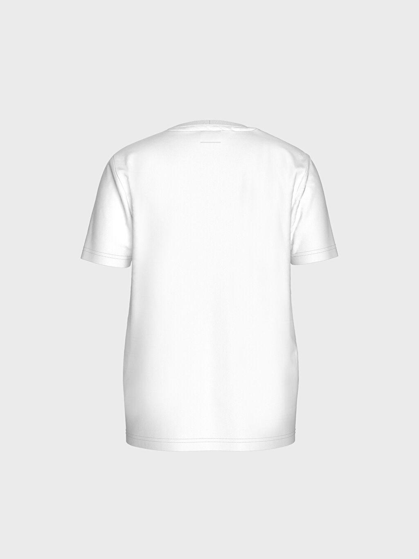 %100 Pamuk %100 Pamuk İnce Standart Baskılı Tişört Kısa Kol Süprem Bisiklet Yaka Erkek Çocuk Baskılı Pamuklu Tişört