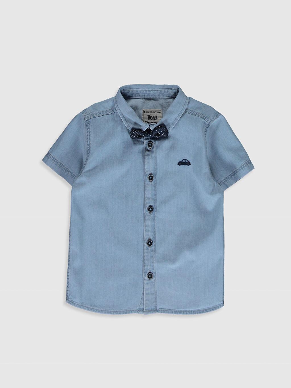 İndigo Erkek Bebek Gömlek ve Papyon 0S0049Z1 LC Waikiki