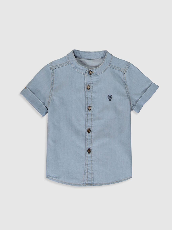 İndigo Erkek Bebek Jean Gömlek 0S0050Z1 LC Waikiki