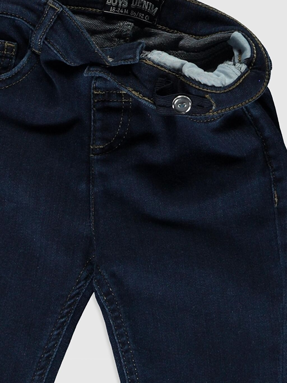 Erkek Bebek Erkek Bebek Slım Fıt Jean Pantolon