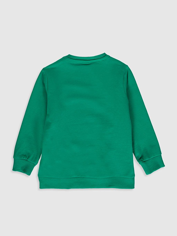 %60 Pamuk %40 Polyester  Erkek Bebek Kalın Sweatshirt