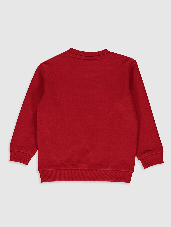 %63 Pamuk %37 Polyester  Erkek Bebek Baskılı Sweatshirt