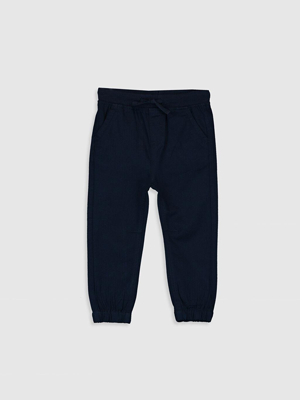 Lacivert Erkek Bebek Jogger Pantolon 0S1075Z1 LC Waikiki