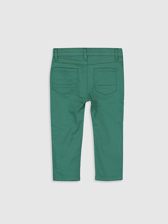 %98 Pamuk %2 Elastan Astarsız Dar Beş Cep Pantolon Gabardin Aksesuarsız %100 Pamuk Düz Erkek Bebek Slim Fit Gabardin Pantolon