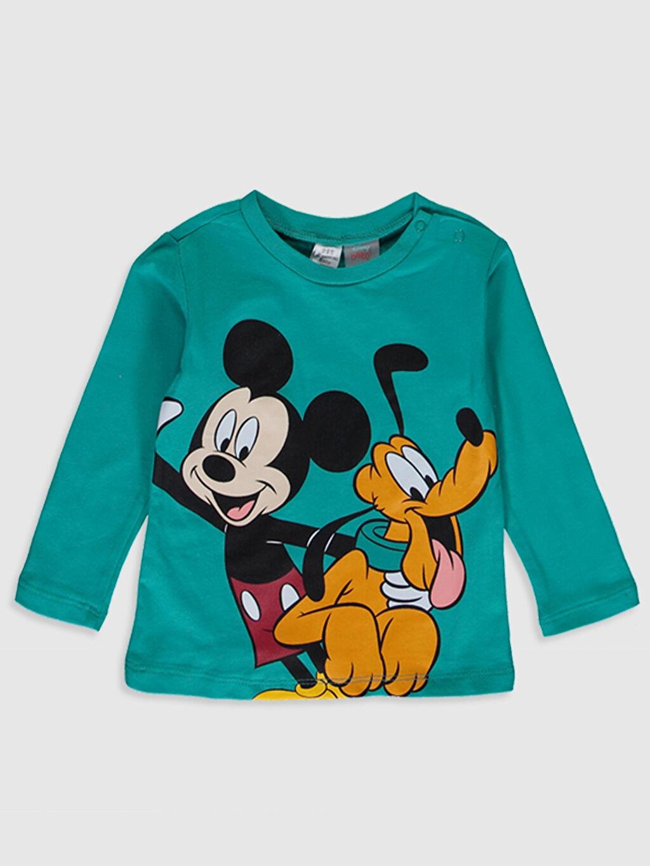 Erkek Bebek Erkek Bebek Disney Baskılı Pijama Takımı